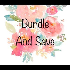 Like several items?! Let's bundle 💗💗💗